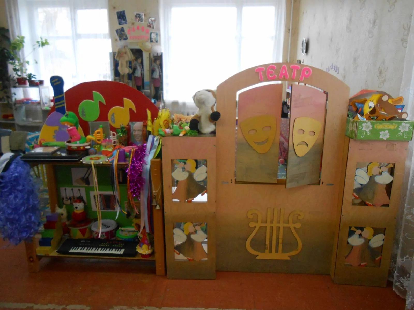 Музыкальный уголок в детском саду оформление