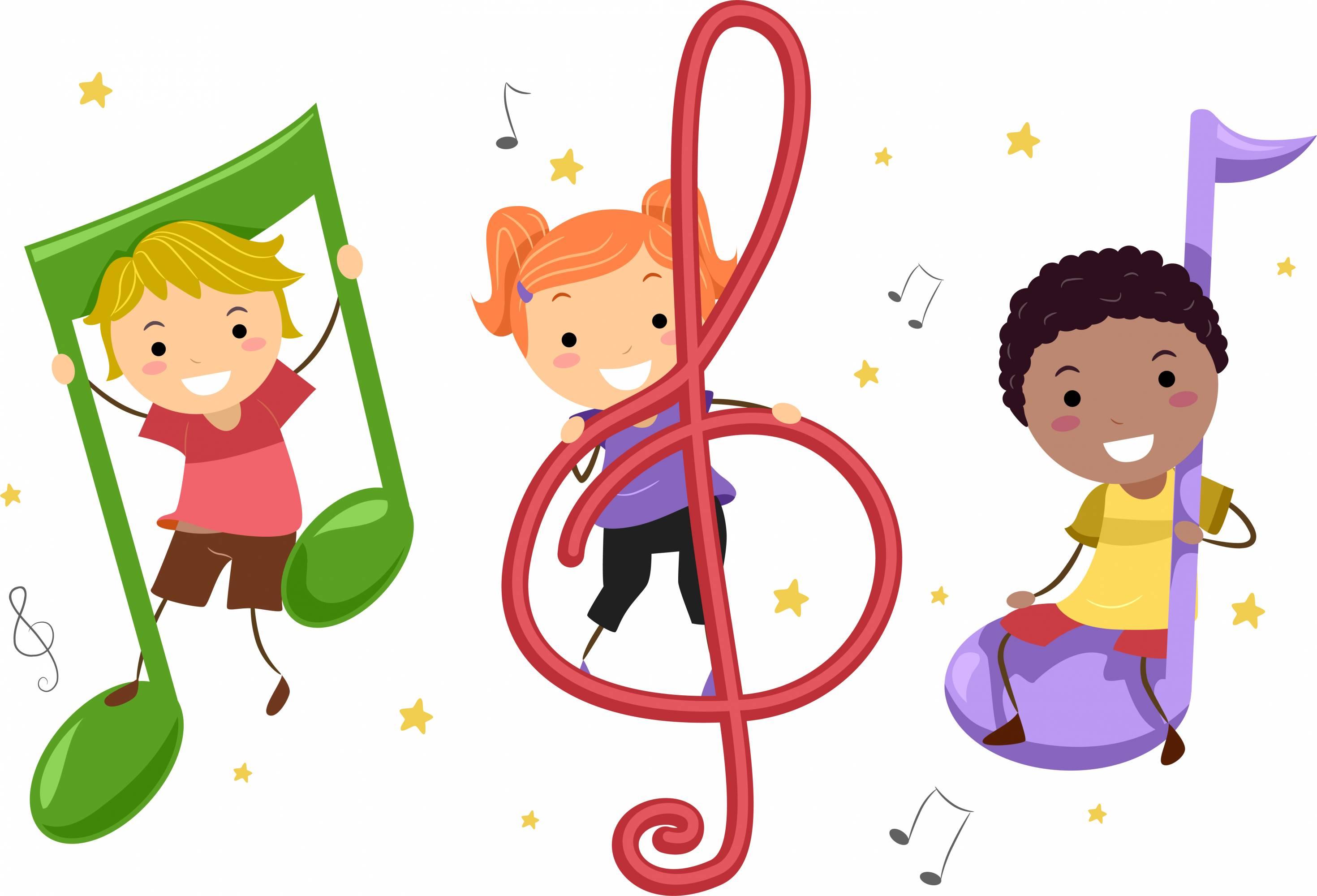 Открыток, картинки для детей музыкальные